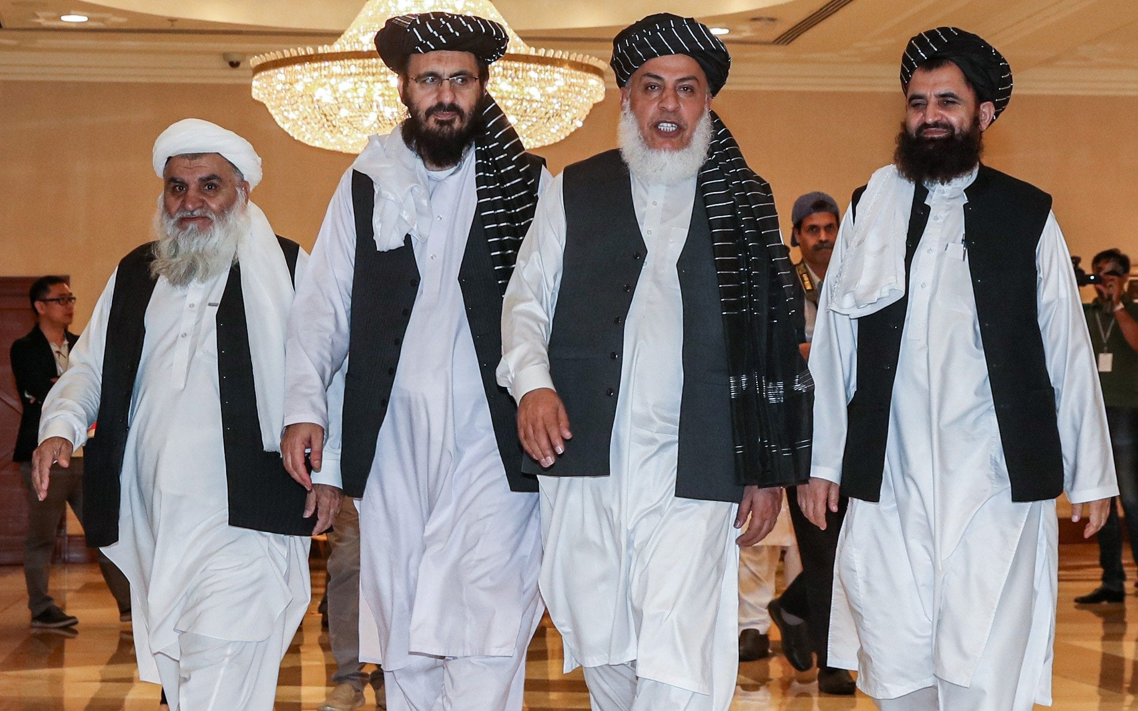 Taliban says peace deal with US to end Afghan war is close