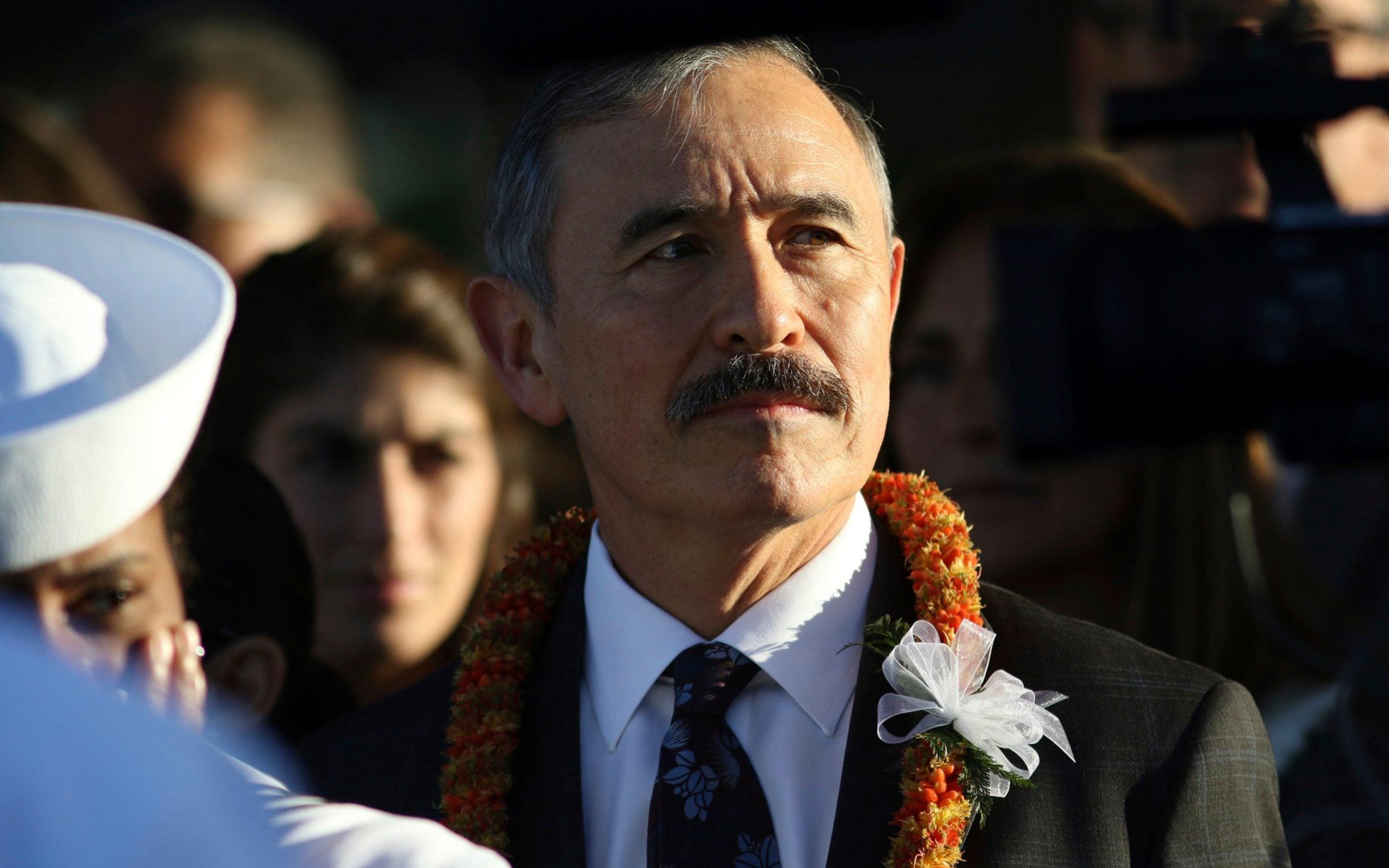 US ambassador defends moustache as South Koreans bristle at disrespectful facial hair