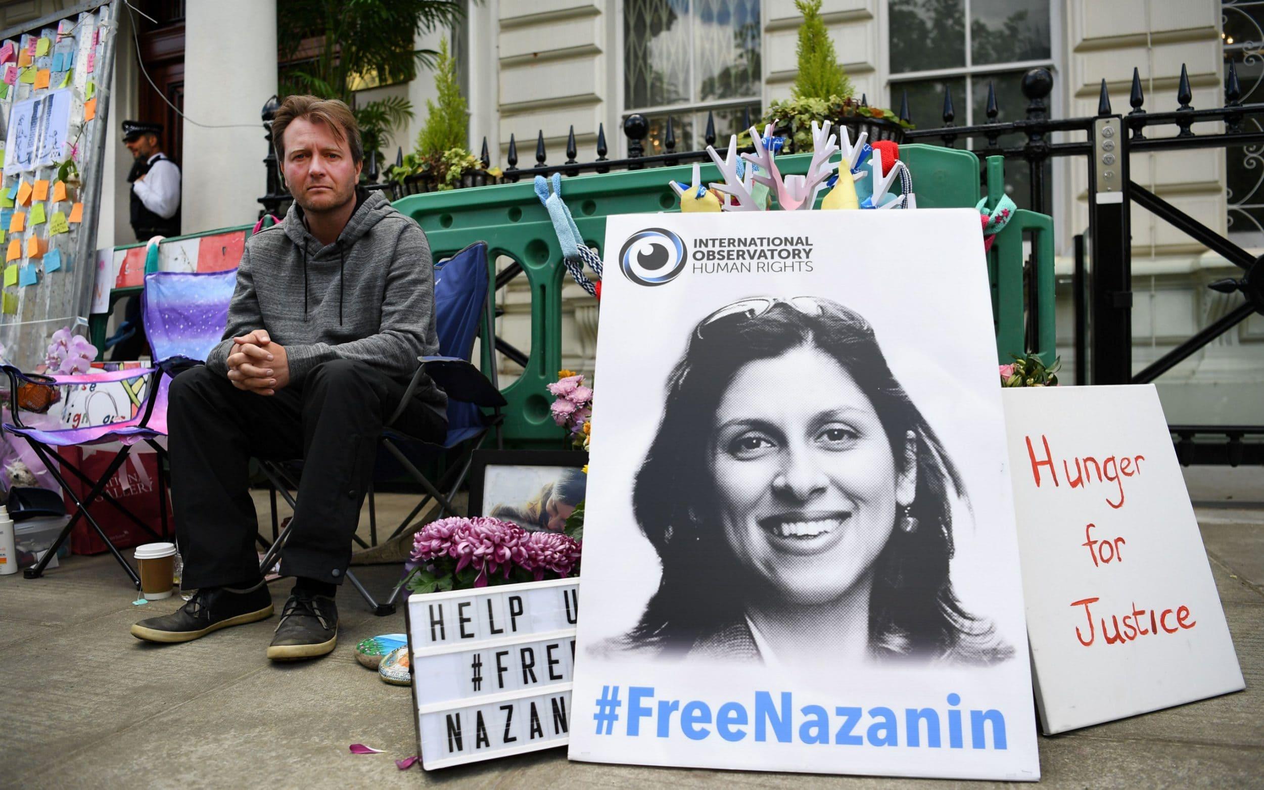 Iran tanker crisis ominous for Nazanin Zaghari-Ratcliffe, husband says