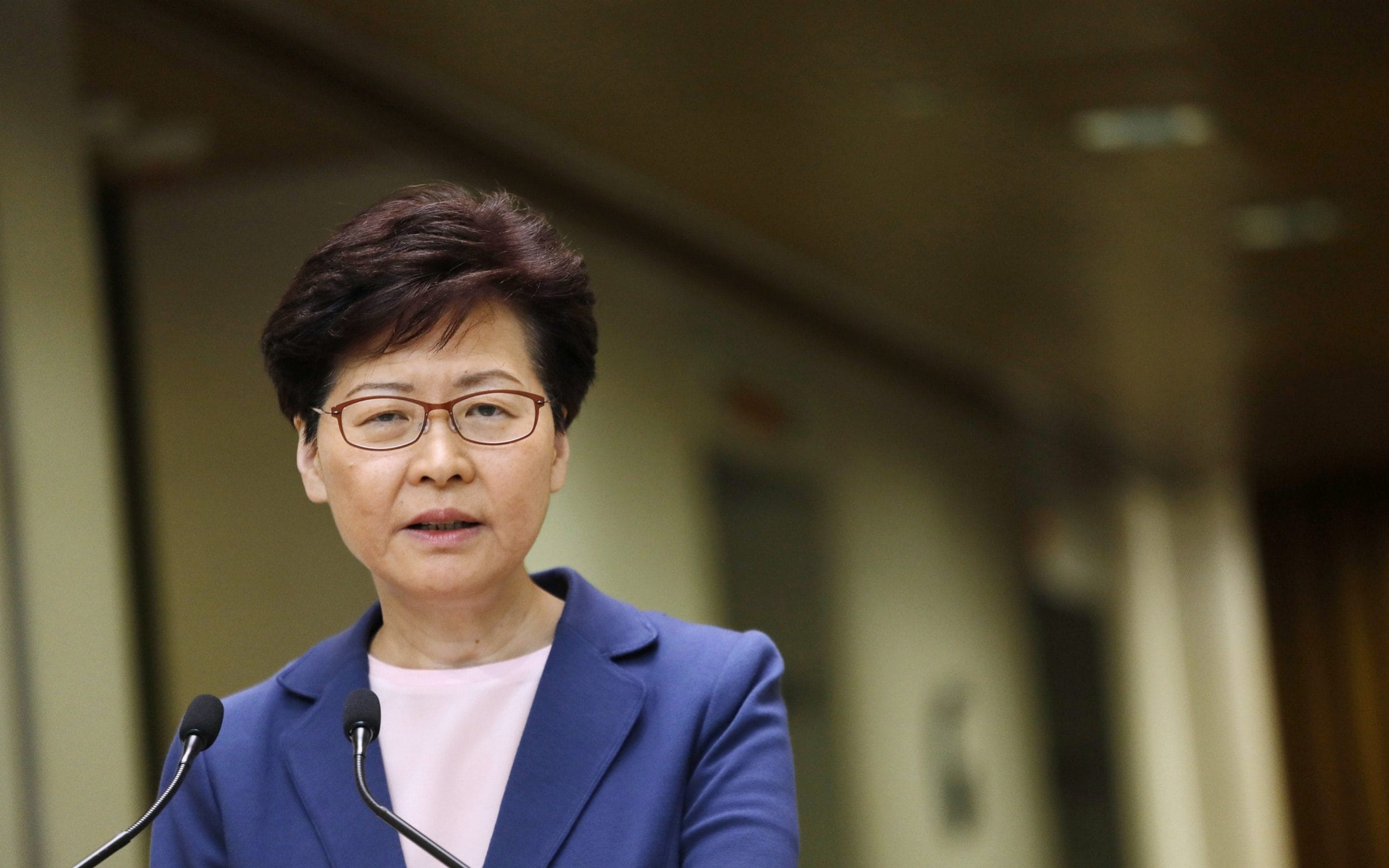 Hong Kong leader Carrie Lam declares extradition bill dead - but stops short of withdrawing it