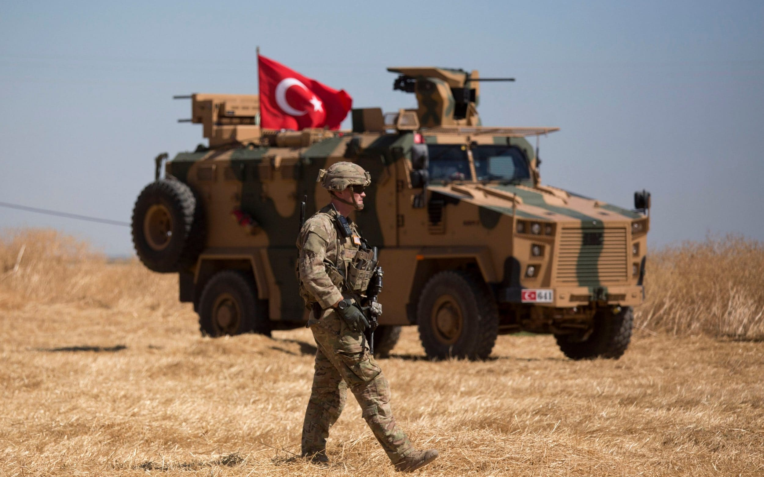Trump abandons Kurds who fought Isil as he allows Turkish assault on northern Syria