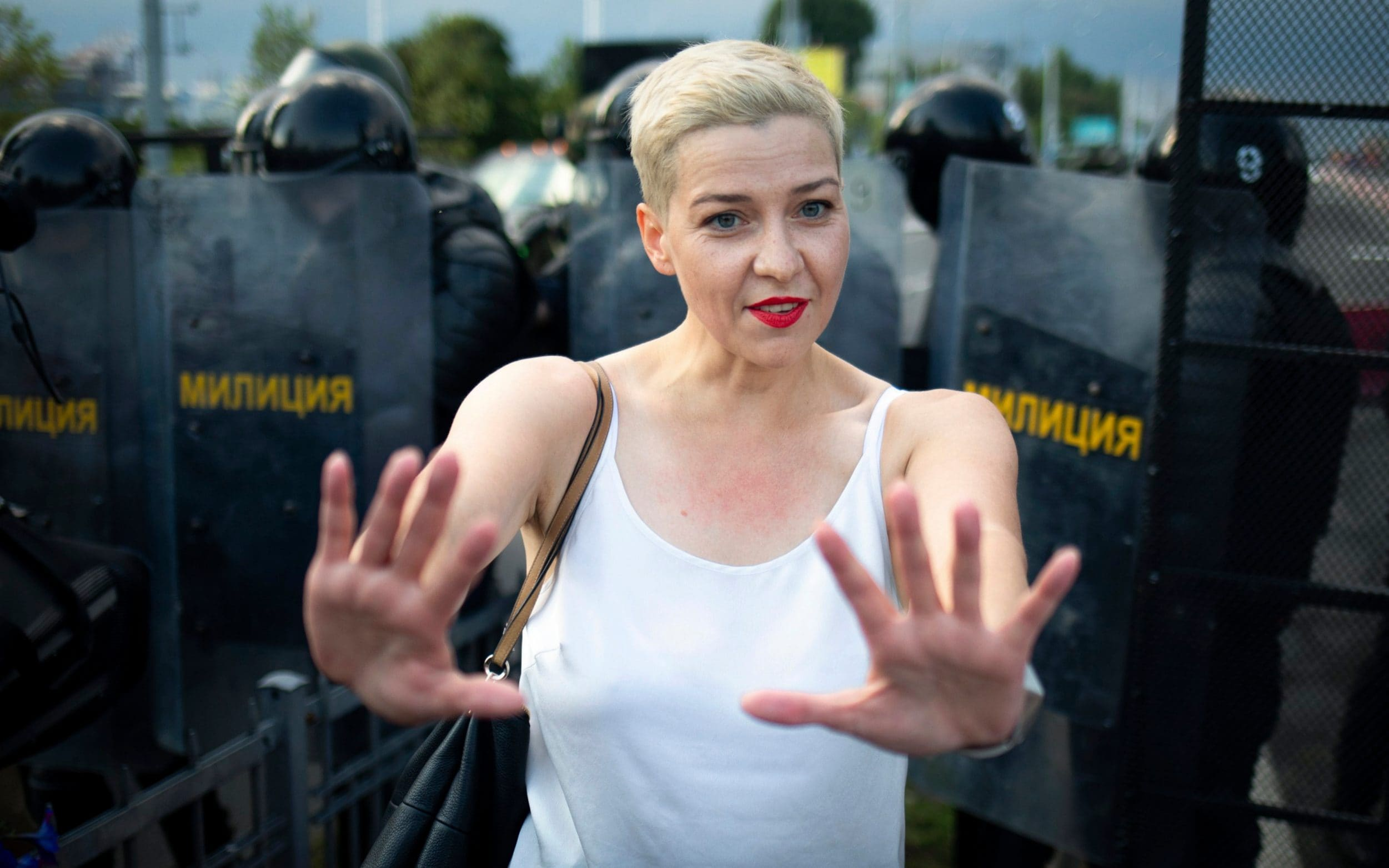 Belarusian opposition leader detained after reported attempt to kick her out of the country