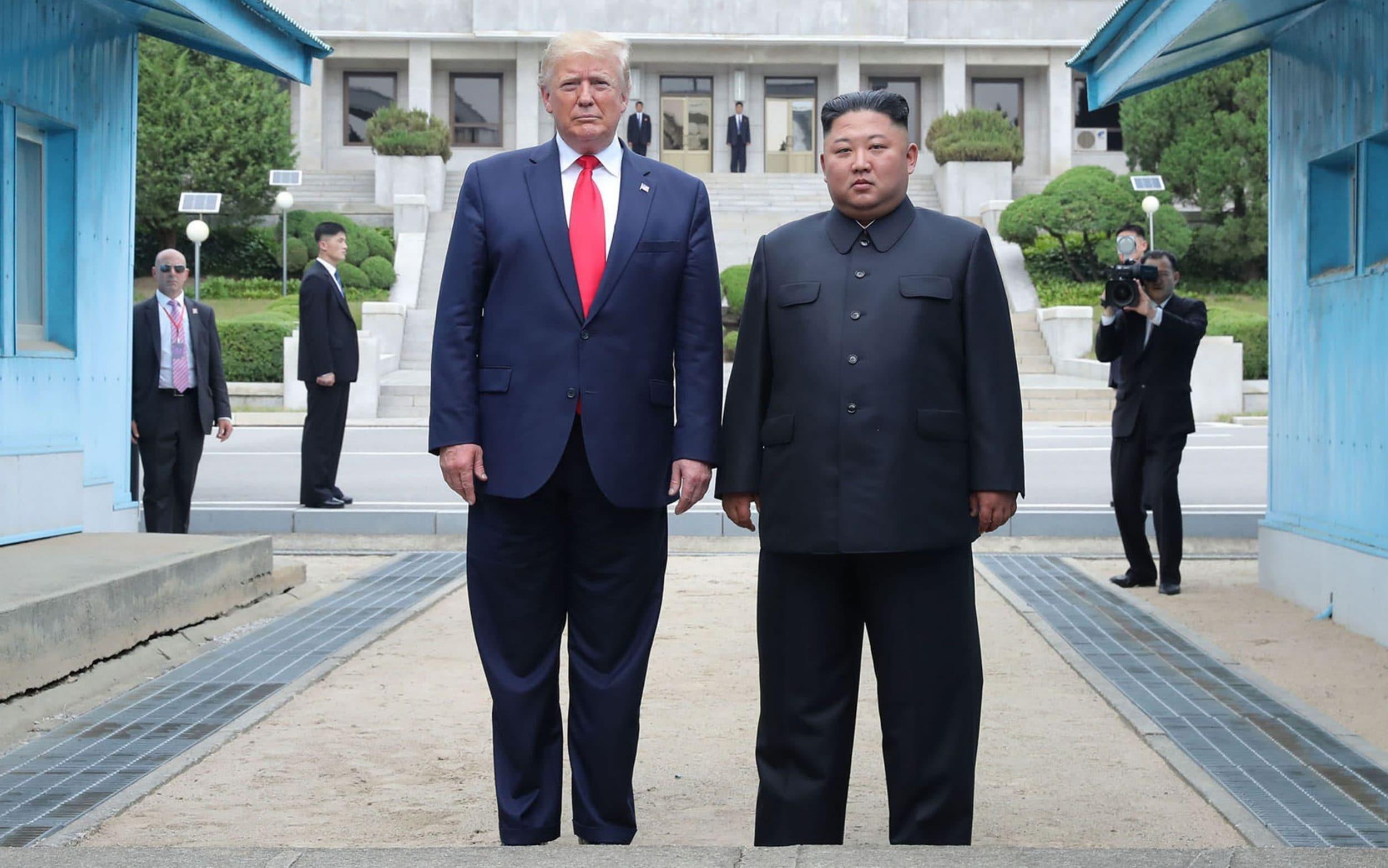 North Korea hails Trump-Kim meeting at DMZ as historic and amazing
