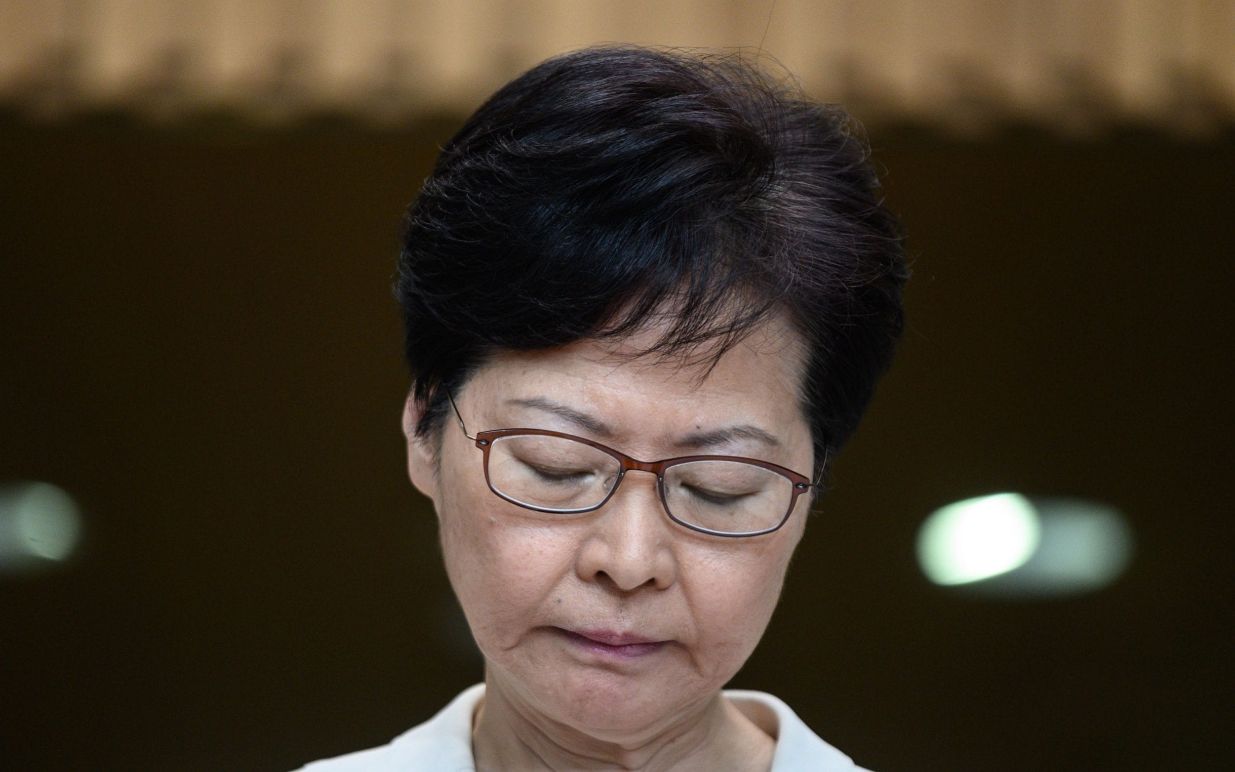 Carrie Lam says China backed decision to withdraw extradition bill