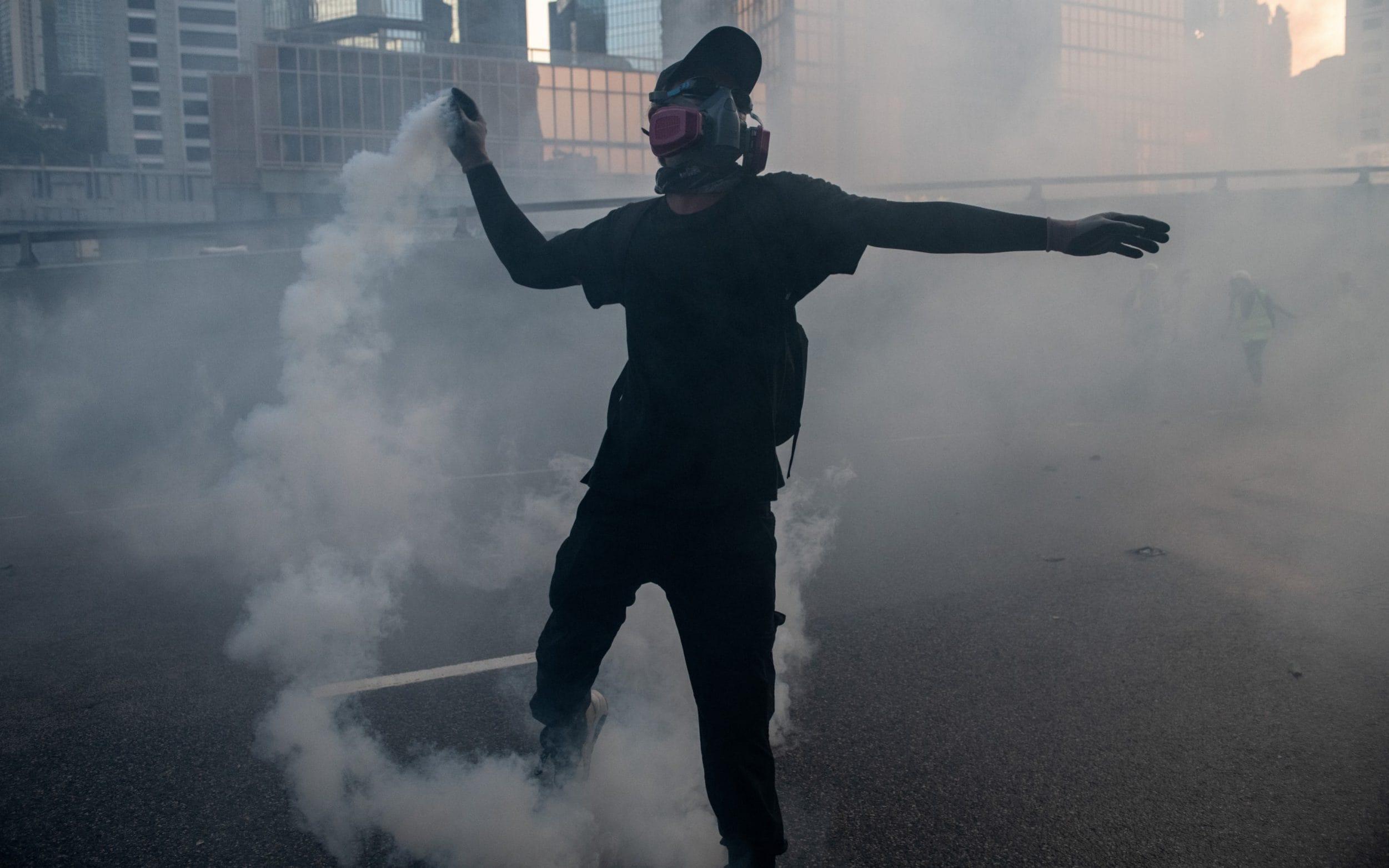 Hong Kong police warn officers might have to kill someone as violence escalates