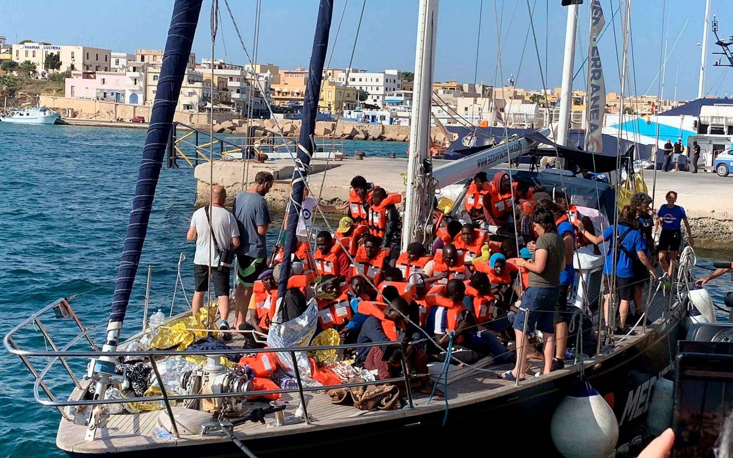 Italian captain under investigation for rescuing 41 shipwrecked migrants