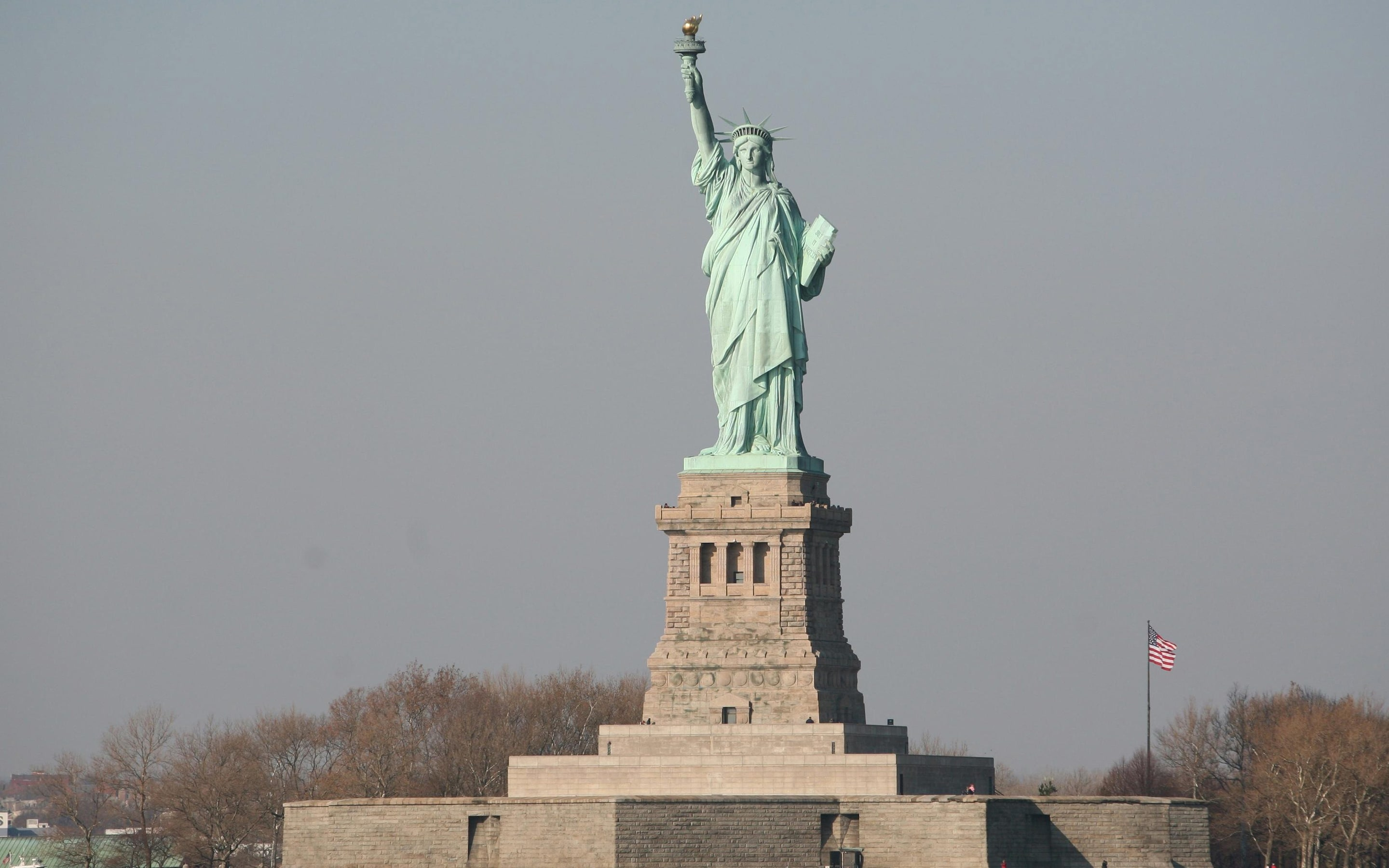 Trump immigration official offers revised version of give me your poor Statue of Liberty inscription