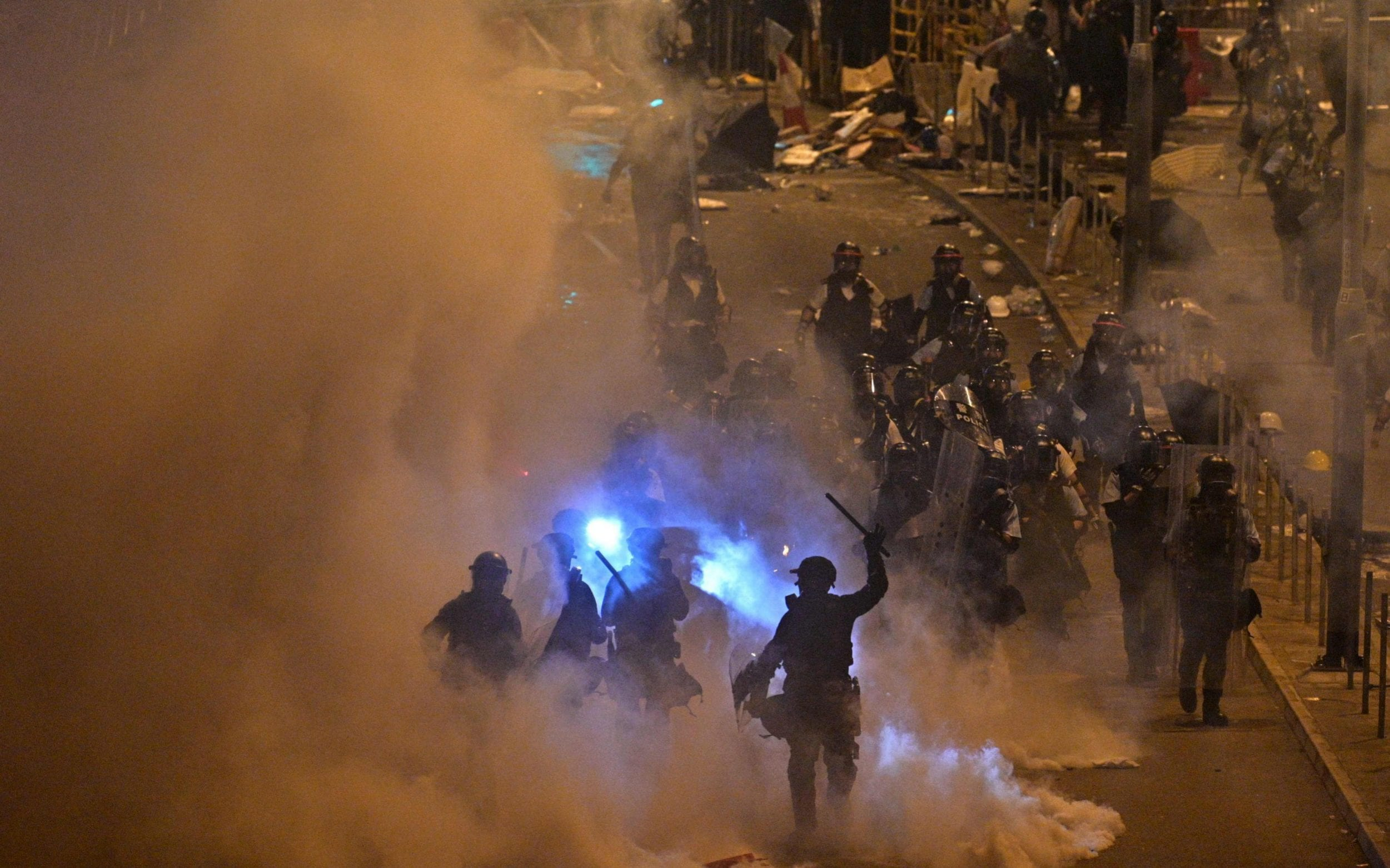 World watches Chinas reaction to Hong Kong protests as fears of military involvement grow