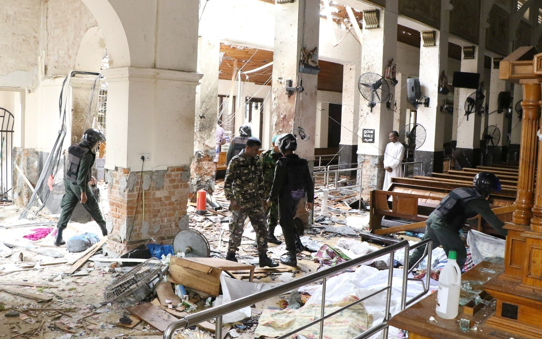 Sri Lankan security forces may have allowed Easter Sunday bombings to proceed, MPs suggest