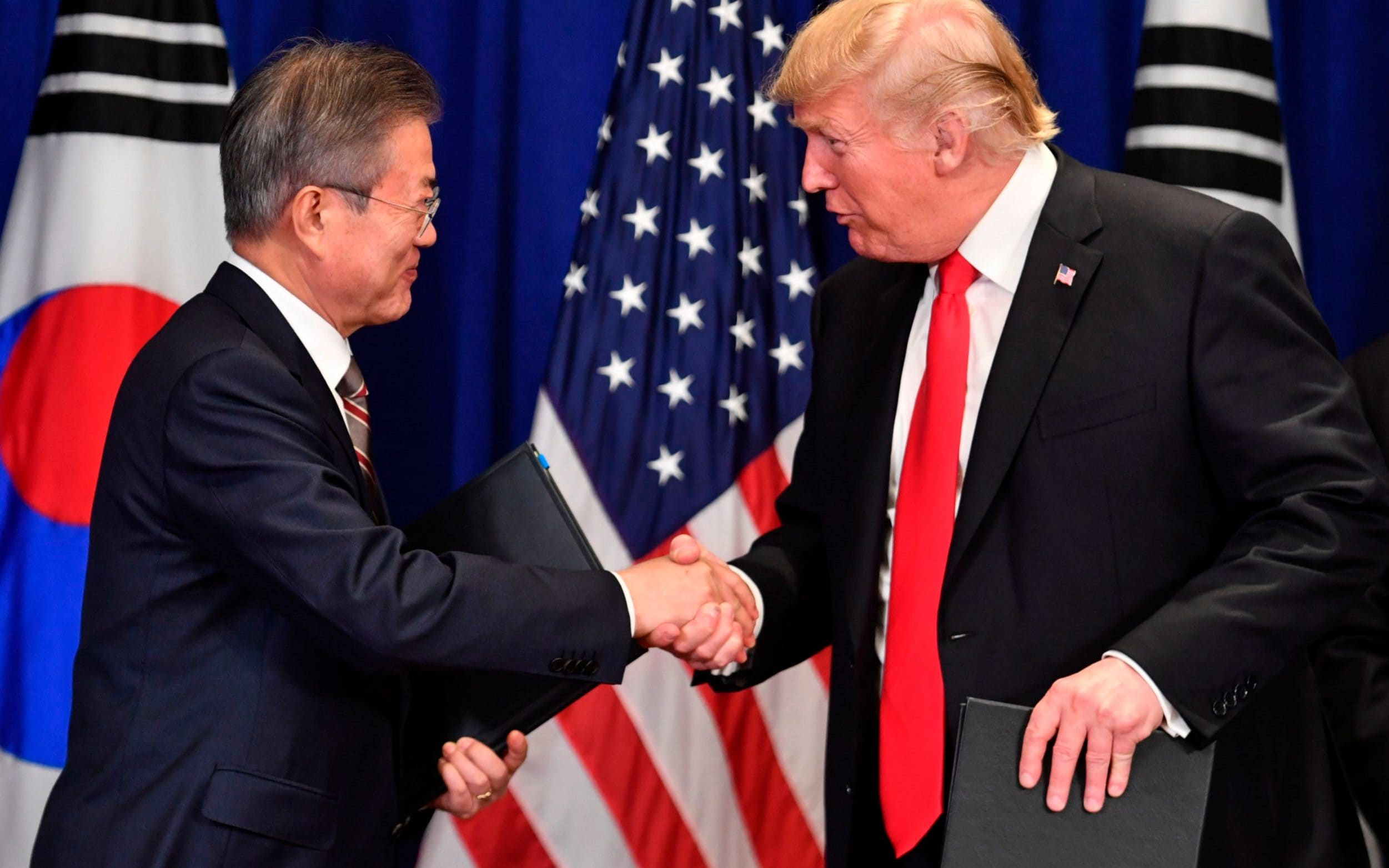 Trump heads to South Korea to save floundering nuclear talks
