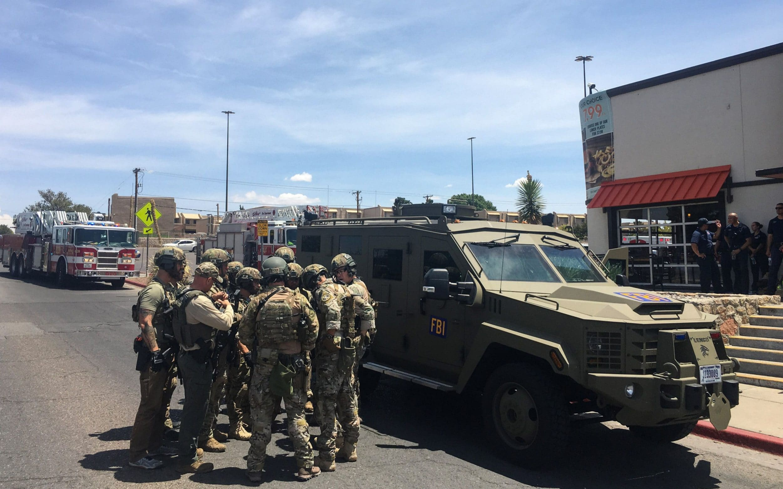 Several people dead in Texas supermarket shooting