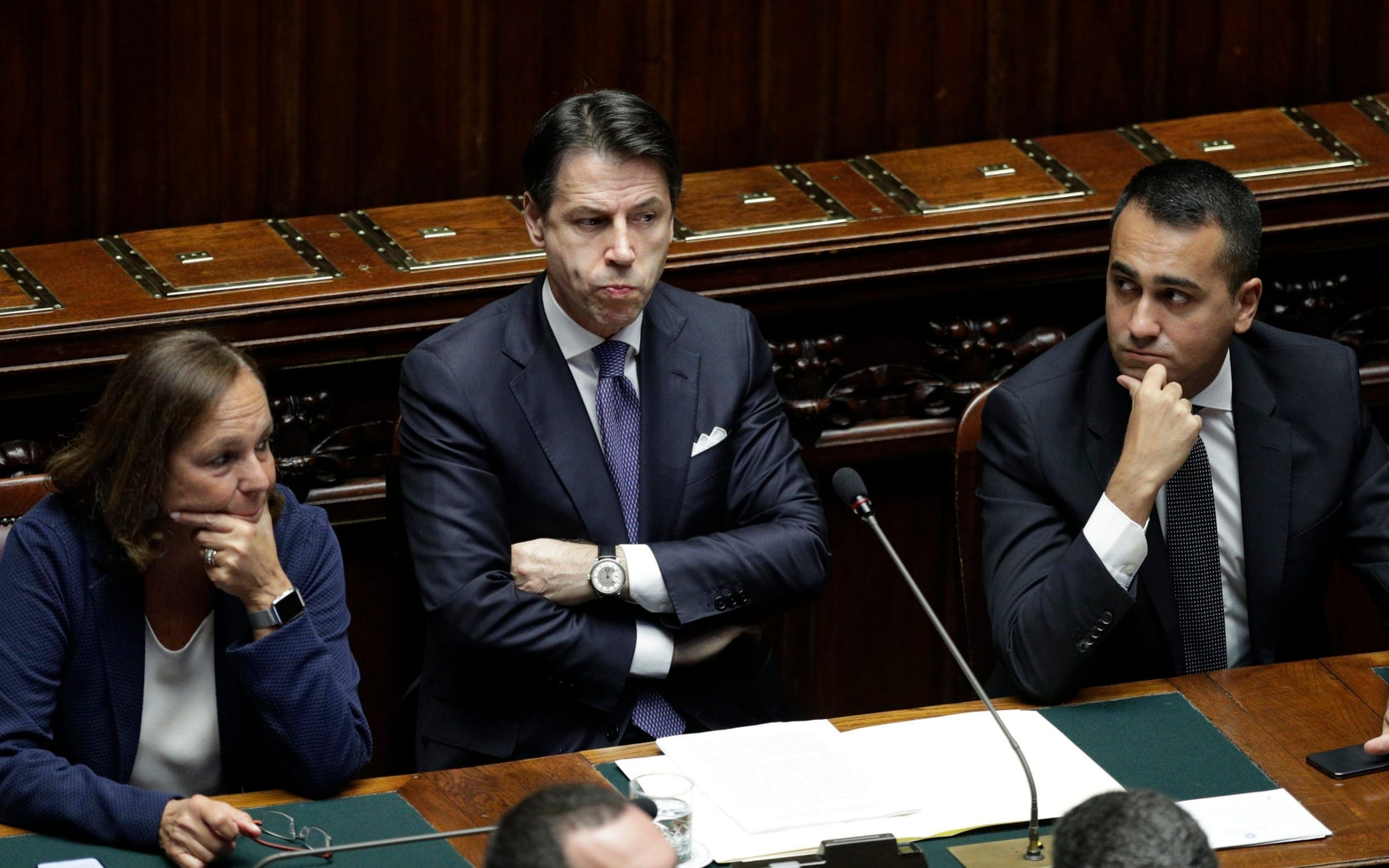 Italian PM promises a more respectful government after Matteo Salvini pushed out