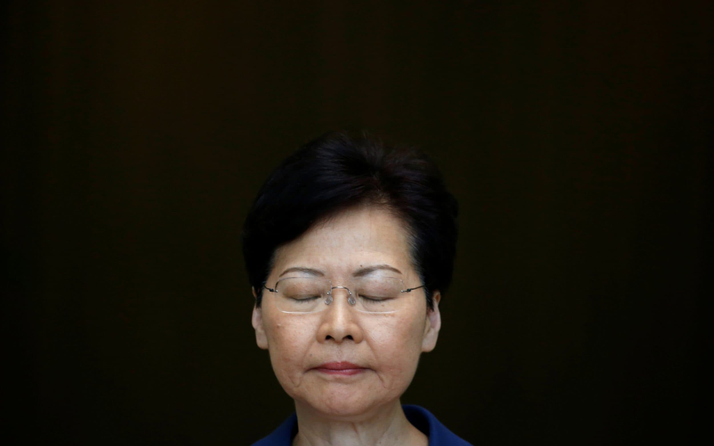 Hong Kong airport cancels flights as Carrie Lam warns of path of no return