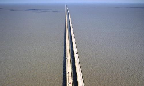 Lake Pontchartrain causeway near New Orleans