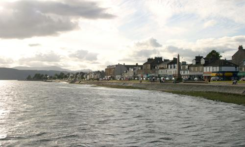 Helensburgh on the River Clyde, Scotland