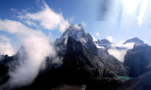 AERIAL VIEW OF MOUNT KENYA