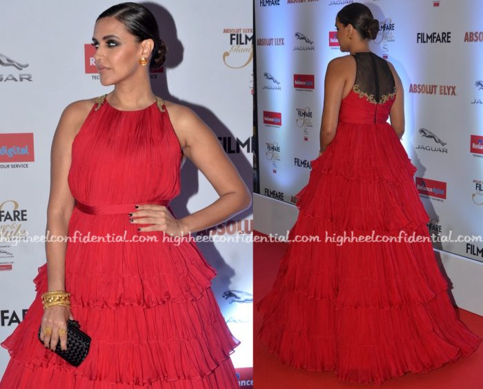 neha-dhupia-in-shantanu-and-nikhil-at-filmfare-glamour-and-style-awards-2016-2
