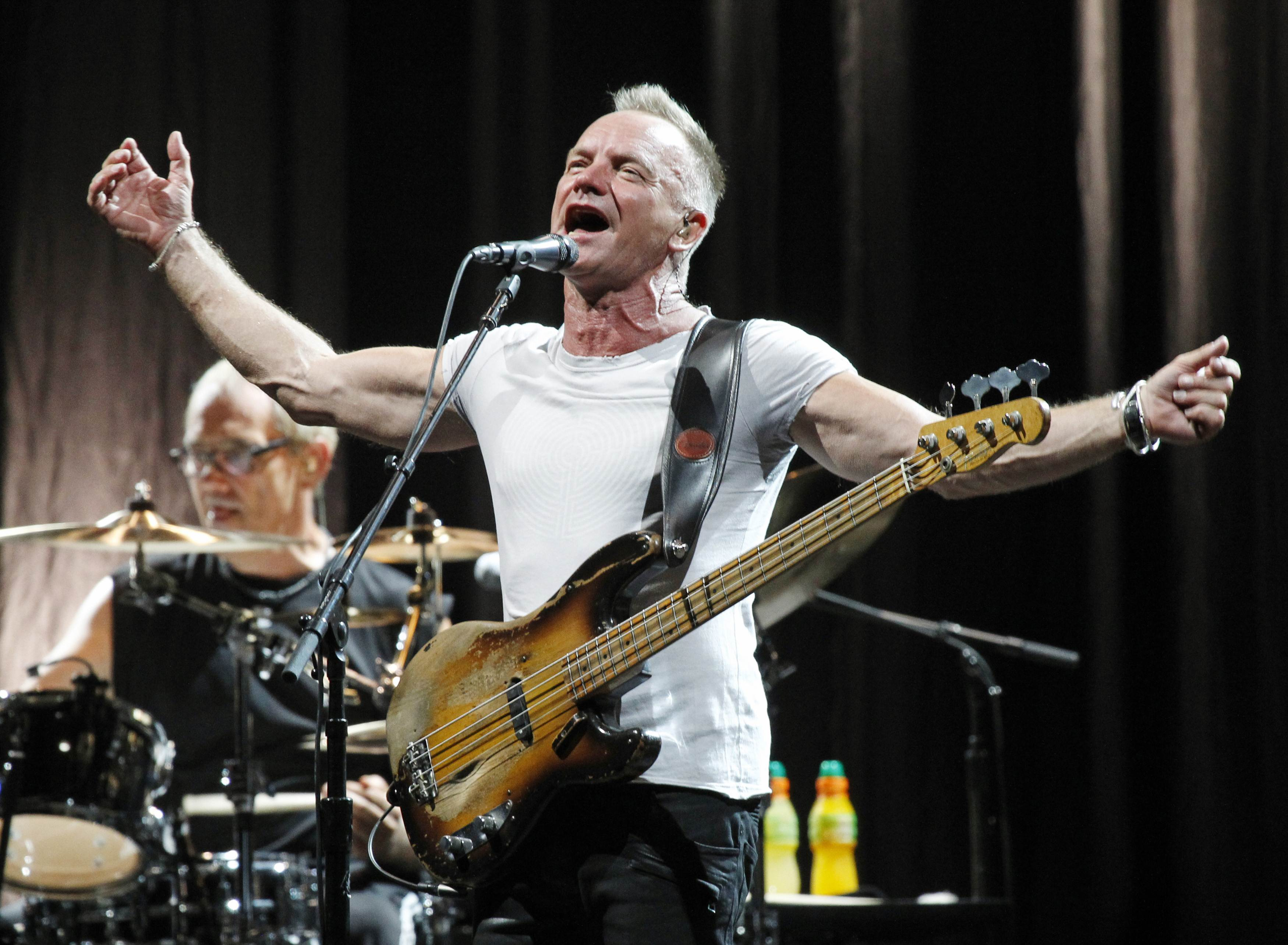 sting to stage one night gig in s pore on dec 13. Black Bedroom Furniture Sets. Home Design Ideas