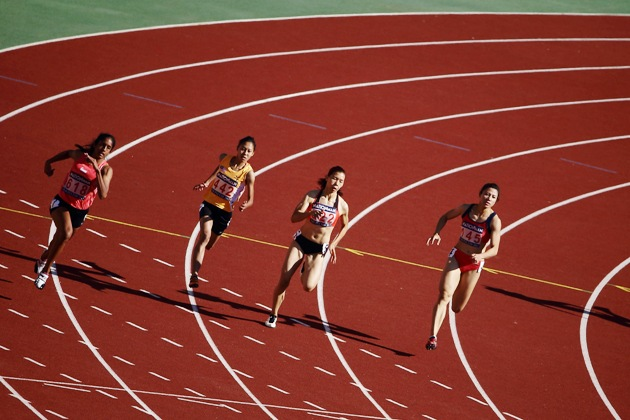 Sea games athletics shanti pereira breaks singapore s 200m sprint