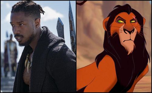 7a443f96256e Killmonger and Scar want the throne and are ready to kill if they have to.