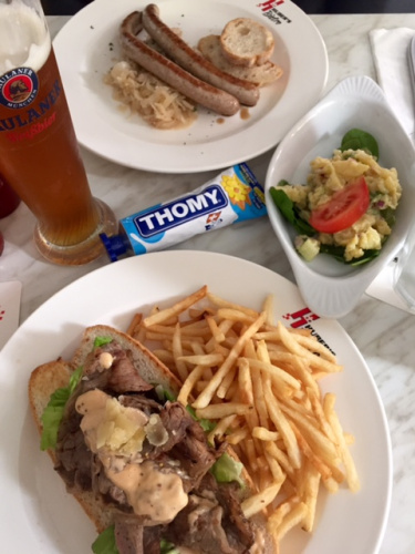 Best places for meat - Hubers steak sandwich