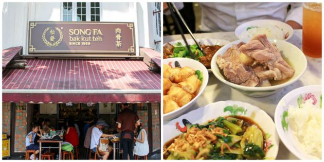 Song Fa Bak Kut Teh  singapore tourist one day