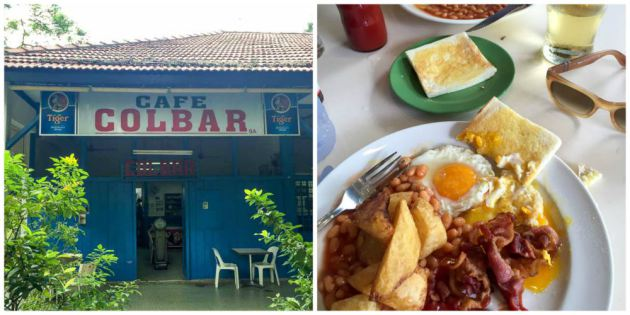 Colbar Cafe singapore tourist one day