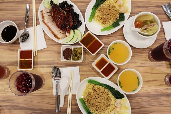 flatlay kay lee roast meat singapore