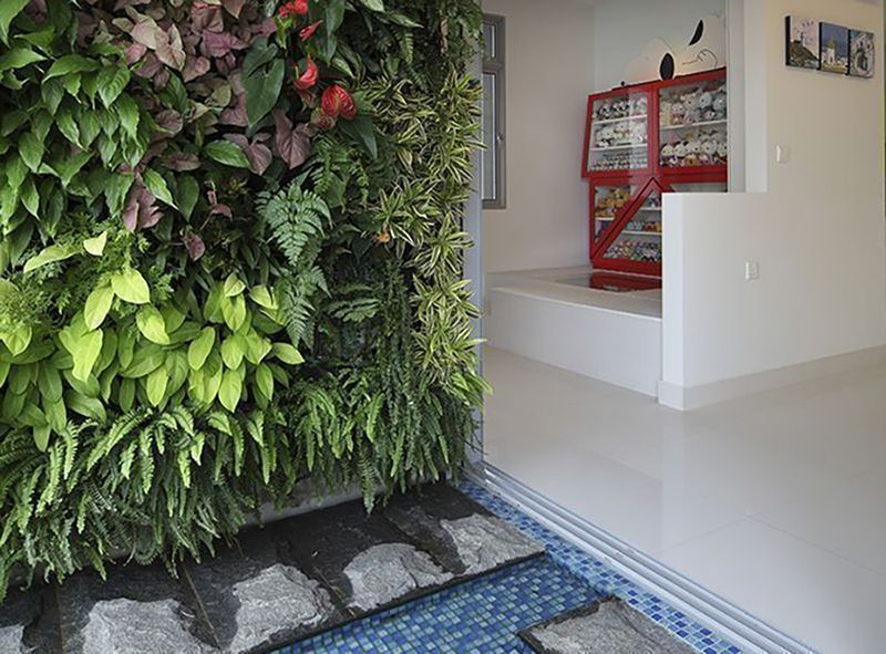 6 reasons to grow a vertical garden at home yahoo for Indoor gardening singapore