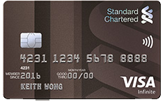 Standard Chartered Visa Infinite Credit Card | SingSaver