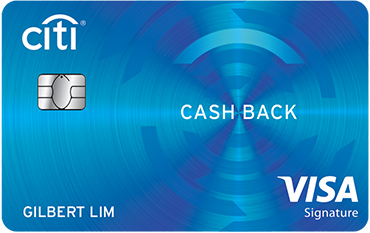 Citi Cash Back Visa Card 2019