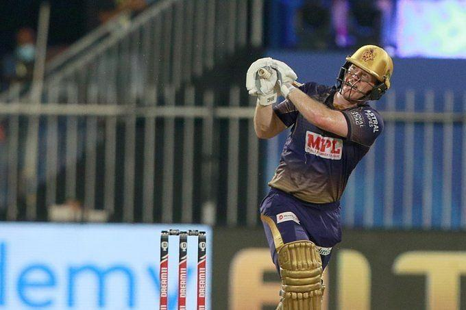 Eoin Morgan batted at No. 4 in KKR's previous IPL 2020 game