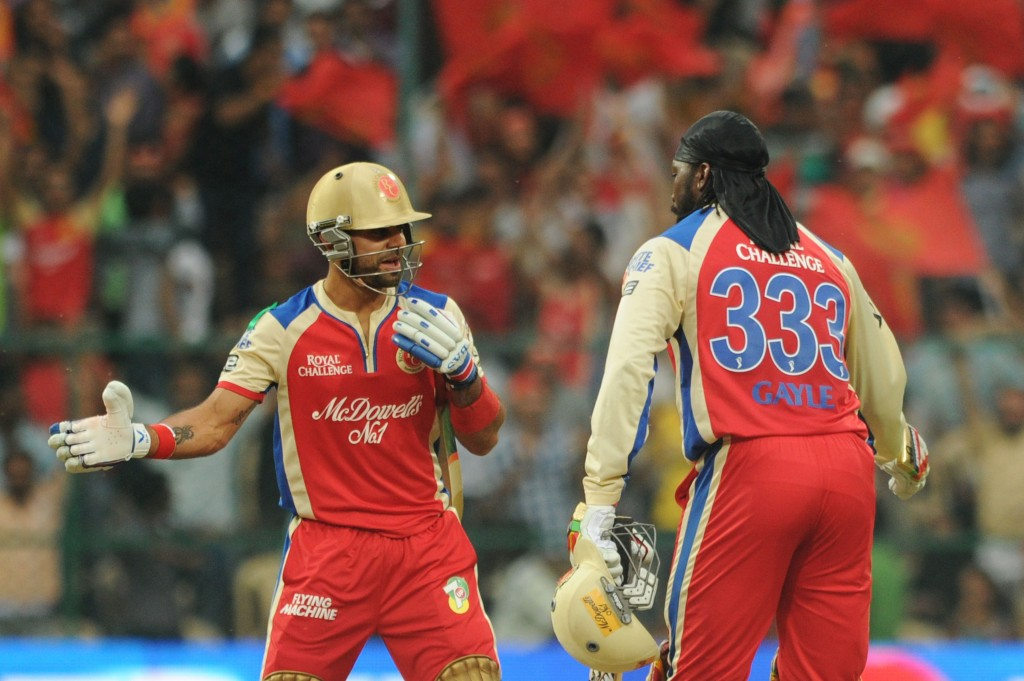 5 highest scores by Royal Challengers Bangalore in IPL history - Yahoo! Cricket.