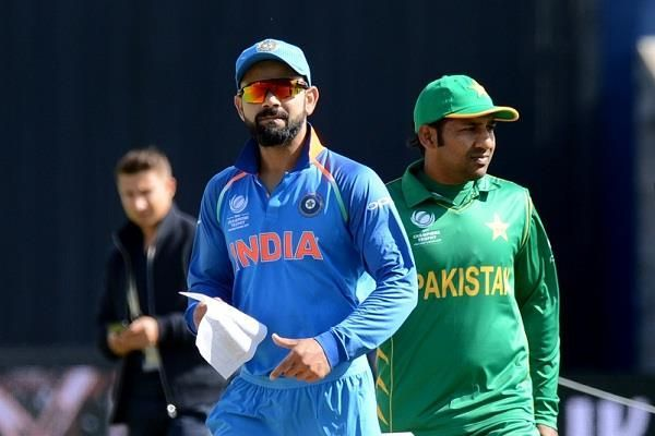 Rain is forecasted to play a spoilsport, yet again, in the India vs Pakistan match