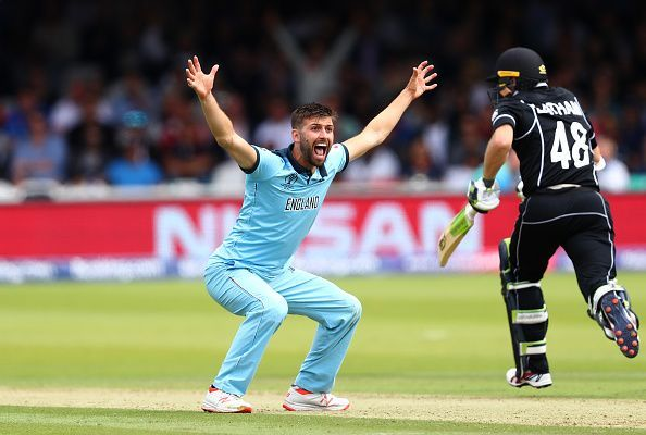 Wood bowled the fastest ball of the tournament in the final against New Zealand