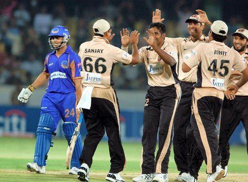 Jersey number 66 - Sanjay Bangar in IPL 2008