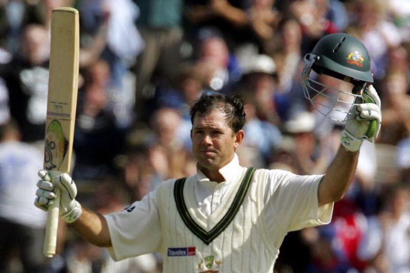 Ponting is the highest run-scorer for Australia in Test cricket
