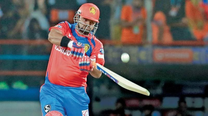 Raina carried around his weight throughout the 2017 IPL, on occassions cracking self-deprecating jokes about his corporation