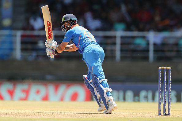 Virat Kohli during the 2nd ODI