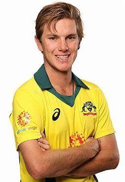 Adam Zampa in Australian colours
