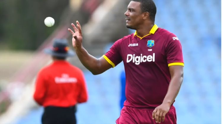 Shannon Gabriel bowled with a lot of heart but was inconsistent
