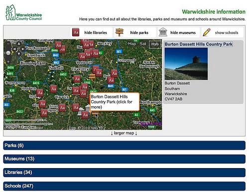 Warwickshire information