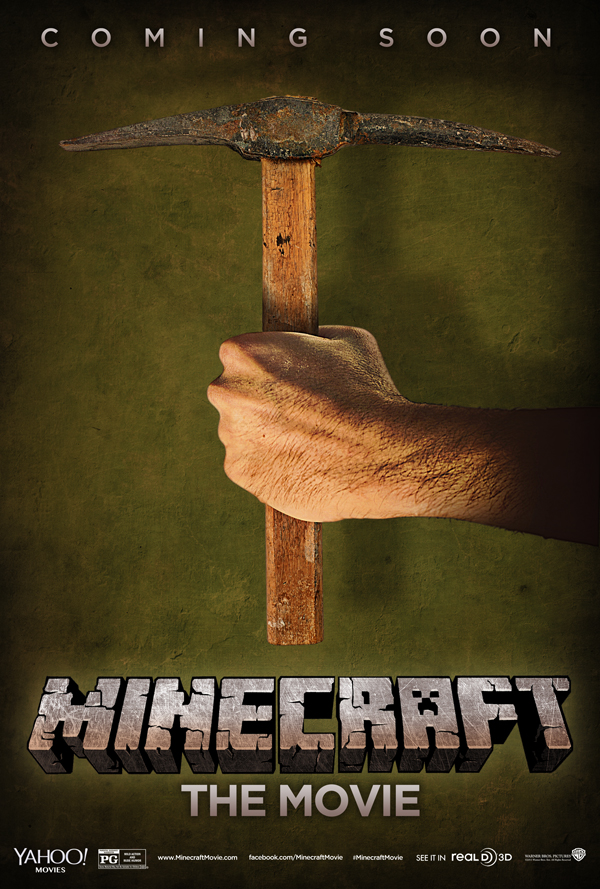 Unofficial 'Minecraft' Poster, Movie Aims for 'Lego' Boost