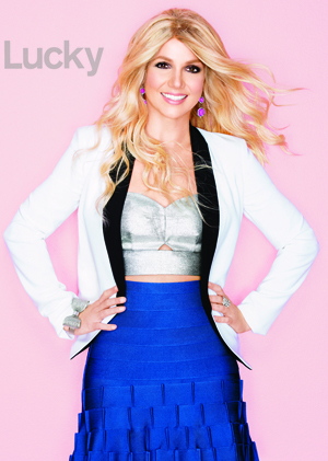 Britney Spears Lucky Magazine Controversy Us Weekly