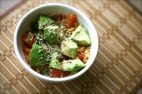 Healthy Tasty Cheap | Warm Spiced Quinoa Bowl