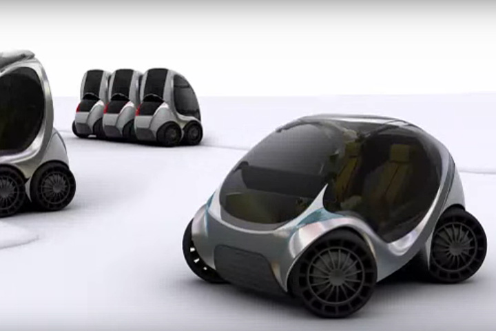 what ever happened to mit s amazing folding citycar. Black Bedroom Furniture Sets. Home Design Ideas
