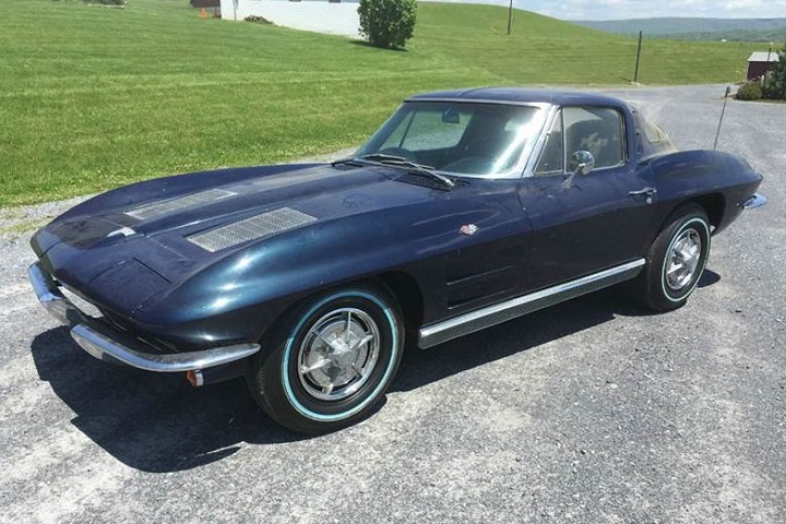 1963 Chevrolet Corvette Split Window Barn Find Should ...