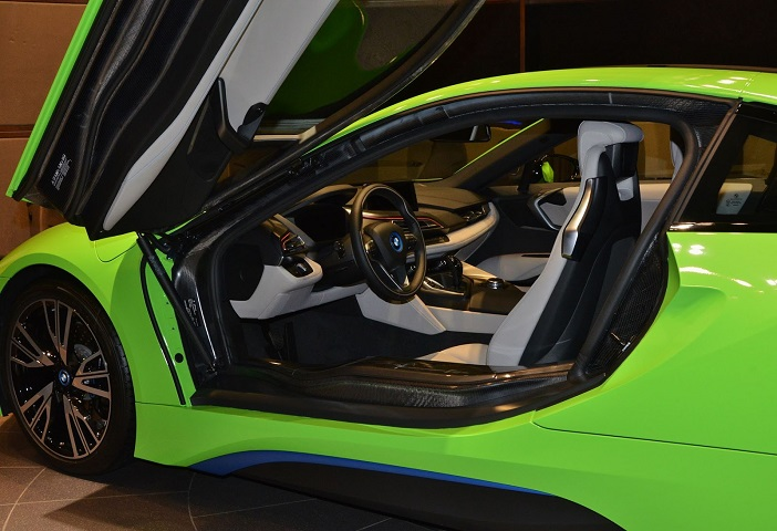This Lime Green Bmw I8 Is Different
