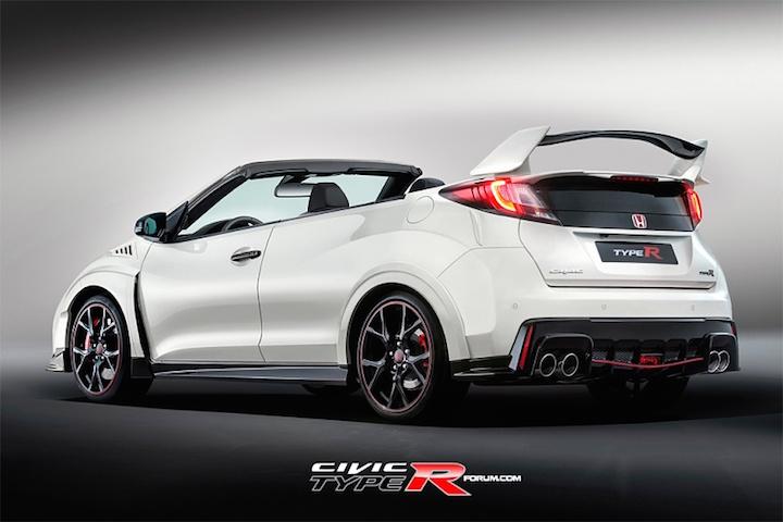 Honda Type R Convertible Concept Photo