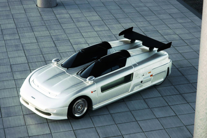 1988 Italdesign Aztec Concept Looks Straight Out of the Future  1988 Italdesign...